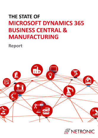 Cover Page -State of Business Central and Manufacturing Report