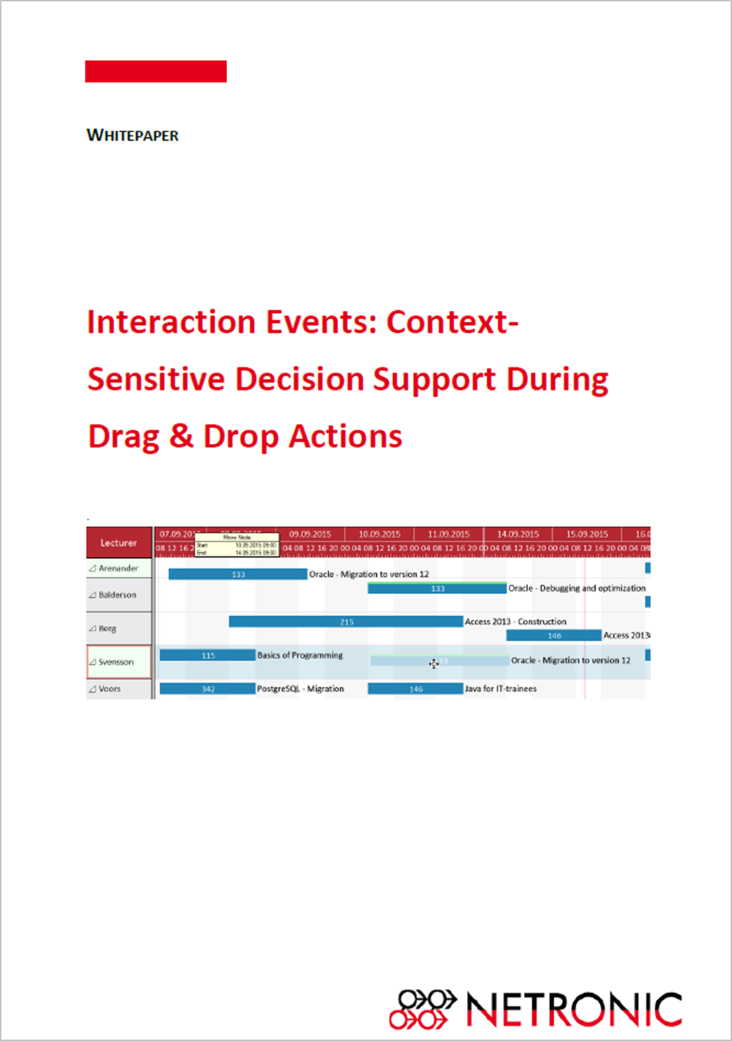Gantt chart whitepaper for .NET developers: interaction events