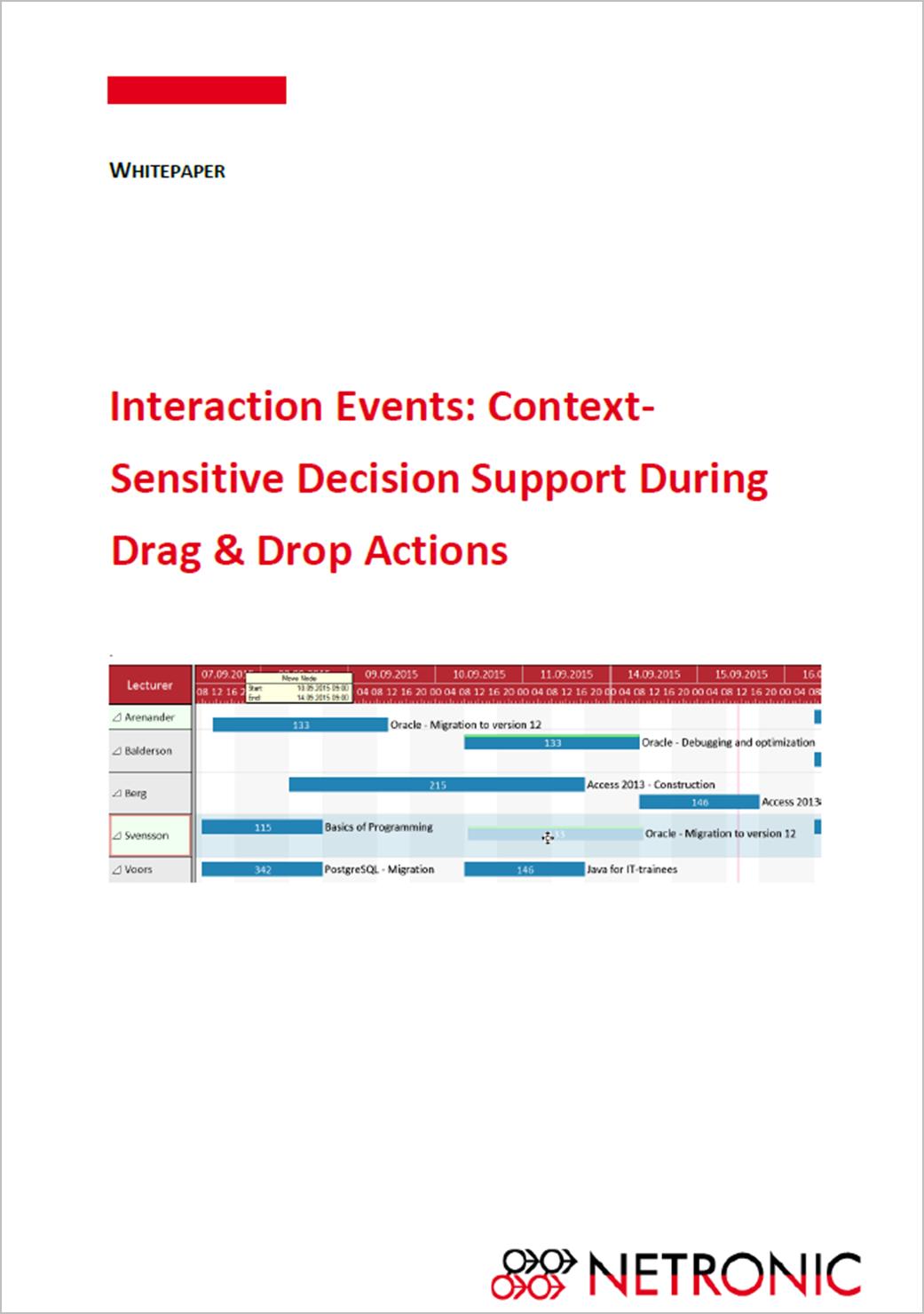 Gantt chart whitepaper for .NET developers: interaction events