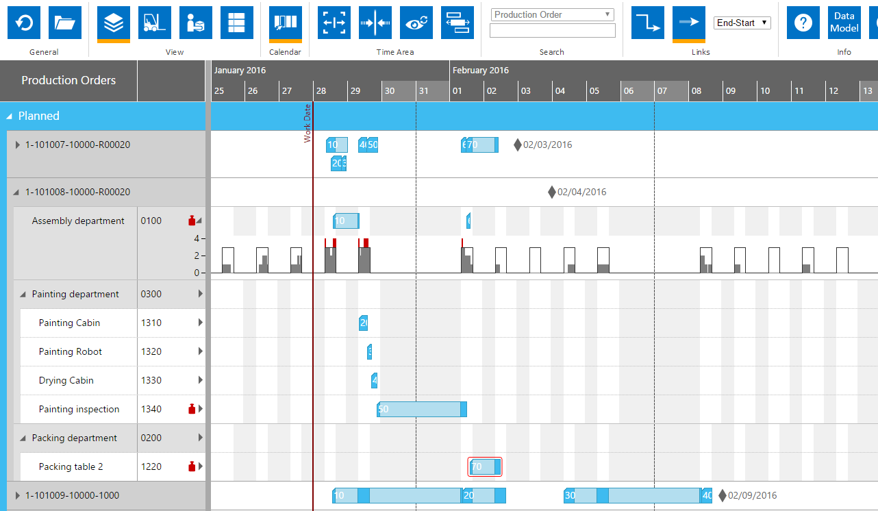 Html5 gantt chart online demo test now lets test with your own data ccuart Gallery